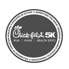 2013 Chick-fil-A 5K logo grey