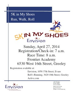 2014 In My Shoes 5k logo