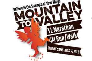 Mountain to Valley Half Logo